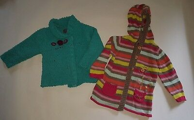 lot 2 gilets ORCHESTRA fille 18 mois
