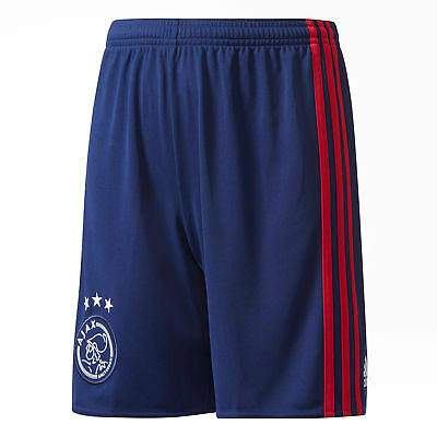 Ajax Away Official Childrens Boys Training Sports Football Shorts 2017-18 - Kids