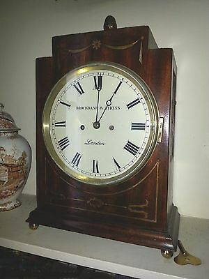Handsome Twin Fusee, Bell Strike, Bracket Clock By Brockbank & Atkins, London