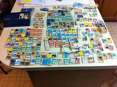 Huge lot of dental root canal files and other items