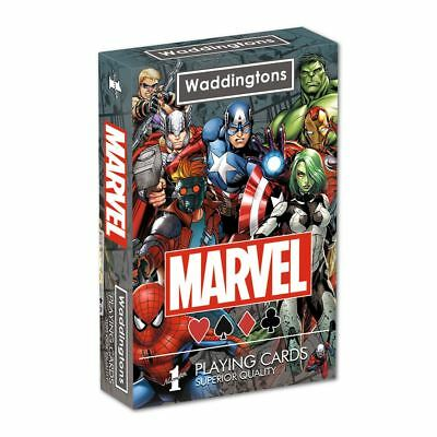 Official Marvel Universe Waddingtons Playing Cards Brand New