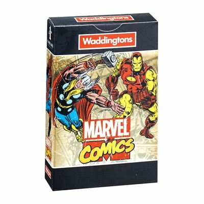 Official Marvel Comics Retro Waddingtons Playing Cards Brand New