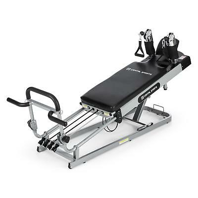 Pilates Fitness Bank Höhenverstellbar Universal Trainings Bank Home Gym Stahl