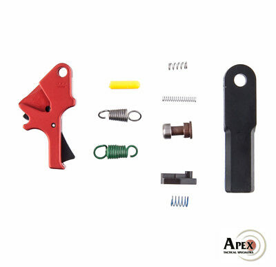 Apex Red S&W M&P Duty/Carry Flat-Faced Forward Set Enhancement Trigger Kit