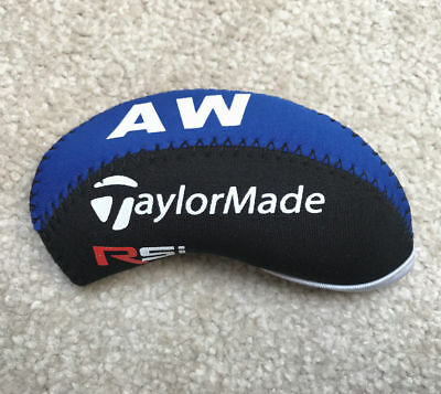 10 PCS Black & Blue Neoprene Taylormade Rsi Golf Club Iron Covers HeadCovers UK