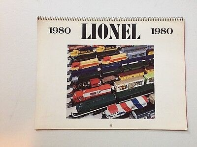 2 Lionel Toy Corp 1980 Full Color Calendar HTF  TM Productions