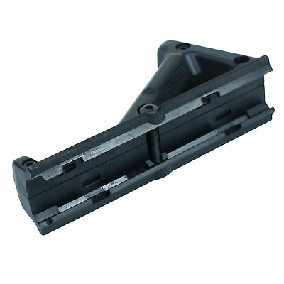 Angled Foregrip Hand Guard Front Grip for Picatinny Rail - black