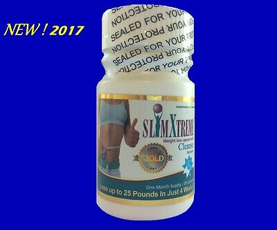 2017 Slim X Gold Capsule-Quick&super Powerful Weight Loss Capsules -30Gold Pills