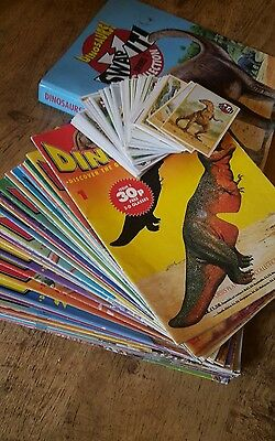 Dinosaurs! Magazine & Swap It Cards, Orbis play and Learn Issues bundle job lot