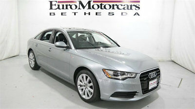 2013 Audi A6 4dr Sedan quattro 3.0T Premium Plus audi a6 4x4 quattro navigation black leather 12 13 14 used sedan premium plus