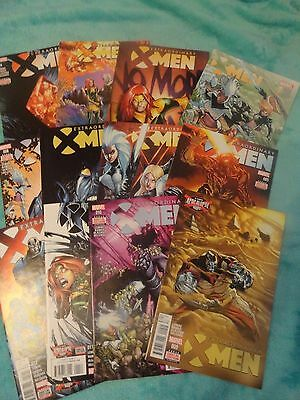 Extraordinary X-Men 1-12 Complete Comic Lot Run Set  1 2 3 4 5 6 7 8 9 10 11 12