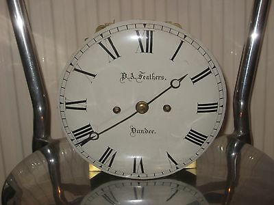REGENCY PERIOD style DOUBLE FUSEE MANTLE CLOCK MOVEMENT - sold for spares
