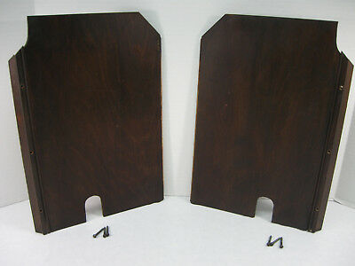 SINGER Sewing Machine D R Cabinet PARTS ~ Inside R-L Wood PANELS ~ Mahogany