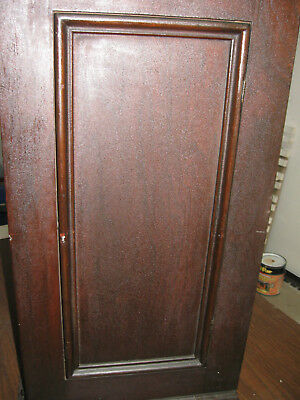 SINGER Sewing Machine D R Cabinet PARTS ~ Right SIDE DOOR ~ Mahogany