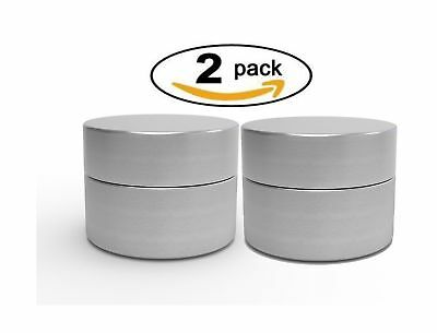 Herb Stash Jar | 2 Solid Aluminum Airtight Smell Proof Containers #1 Best Way...