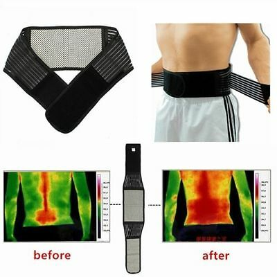 Tourmaline Magnetic Therapy Self Heating Lower Back Waist Support Belt Backache/