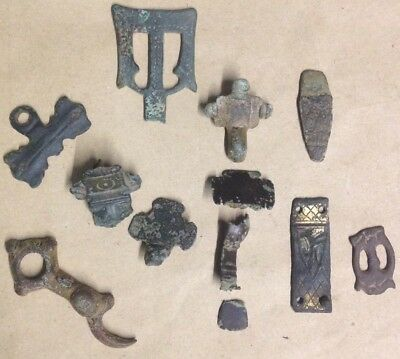Saxon/Viking Artefacts And Saxon Gold, Metal Detecting Finds.