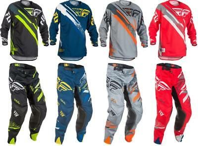 2018 Fly Racing Evolution 2.0 Jersey Pant Gear Combo Motocross Off Road MX ATV