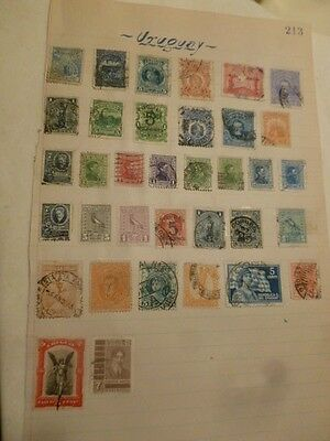 Uruguay Stamp Postage Very Quick Free Careful Shipping 35 Stamps