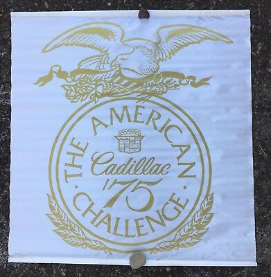 Cadillac American Challenge 1975 banner