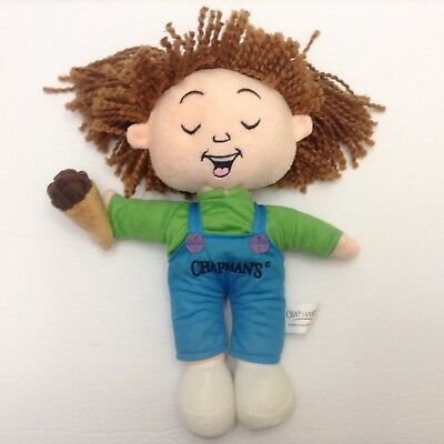 Chapmans Ice Cream Plush Doll Boy Francis 12 Inches Tall
