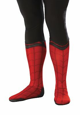 Spider-Man Spiderman Boot Tops ADULT Costume Accessory NEW Homecoming