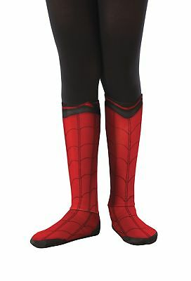 Spider-Man Spiderman Boot Tops CHILD Costume Accessory NEW Homecoming