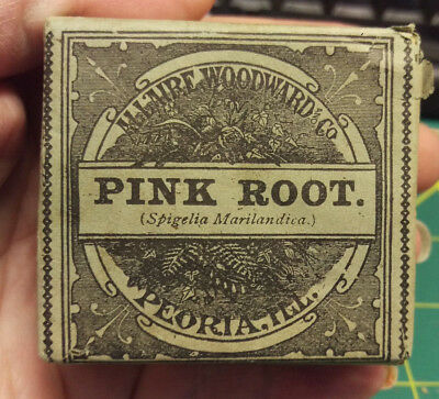 Vintage Unopened pack of Pink Root from All'aire Woodward Co  - New Old Stock