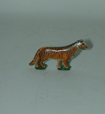 Cracker Jack Premium Prize Lithographed Tin Standing Tiger 1920s