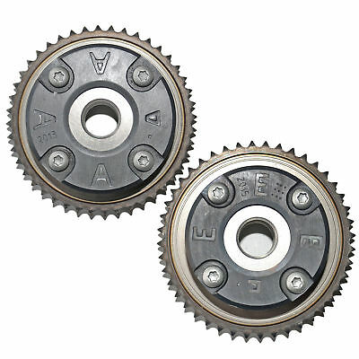 PAIR TIMING GEARS FOR MERCEDES C CLASS 1.8L Petrol 2002-ON M271 E CLK VVT PULLEY