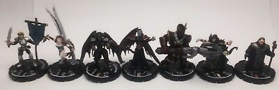 Mage Knight Heroic Quests & Conquest Unique Hero Lot (x7)