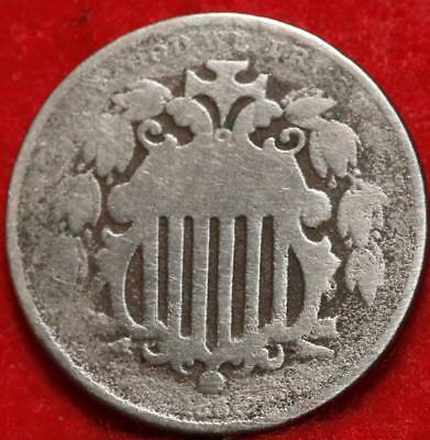 1866 Philadelphia Mint Shield Nickel Free Shipping
