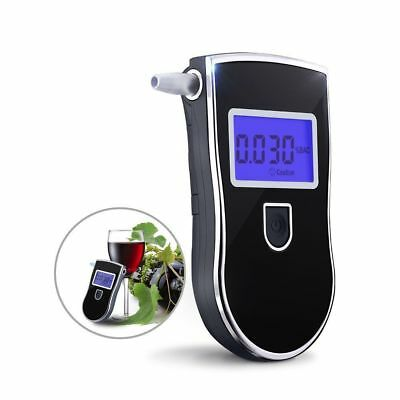 Portable Digital Alcohol  Breath Tester Breathtester w/ Blue LCD