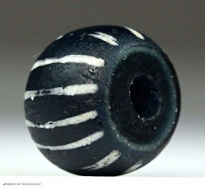 27) A - Speo Native American Old Trade Bead Indian Artifact 1600's PA