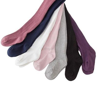 USA Warm Knitted Cotton Baby Girl Hosiery Pantyhose Pants Stockings Socks Tights