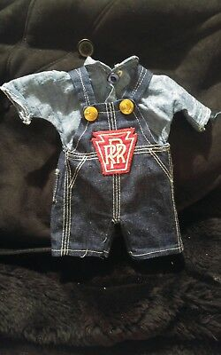 Vintage buddy lee doll COVERALLS RR