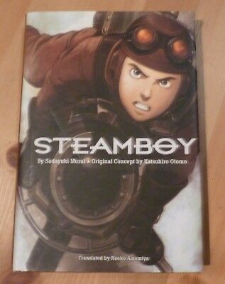 Sadayuki Murai, Steamboy Hardcover Light Novel