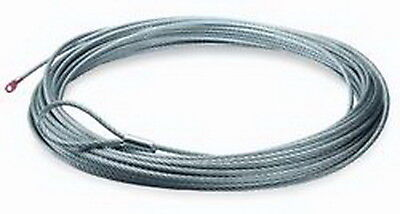 """Warn 60076 Wire Rope 3/16 """"x50 ft. Fits Winch Fits Models A2000/A2500"""
