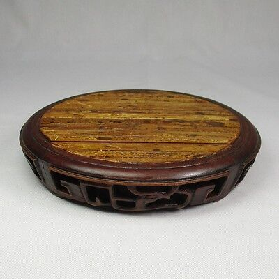 G621: Chinese bamboo and KARAKI wooden decorative stand with good atmosphere