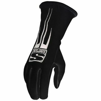 SIMPSON SAFETY Double Layer Large Black Predator Driving Gloves P/N 20800LK