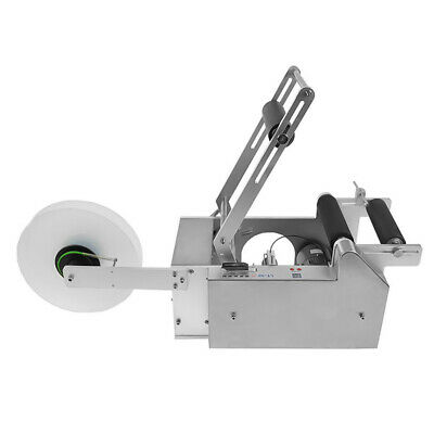 Semi-automatic Round Bottle Labeling Machine Labeler LT-50S AUTO label adjuster