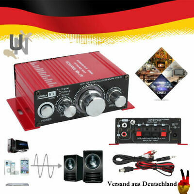 Hi-Fi Mini Stereo Verstärker Amplifier MP3 Auto Roller Scooter Tuning Kanal AMP