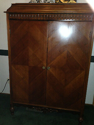 Antique Wardrobe with rods
