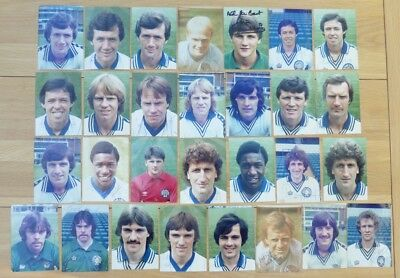 1970s Leeds United Signed Official Club Photos - Rarely seen