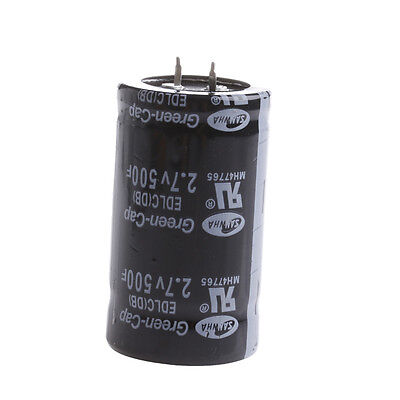Farad Capacitor 2.7V 500F 35*60MM Super Capacitor For Car Rectifier High Quality
