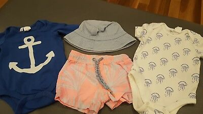 Baby Boys Clothes Size 00 (Country Road/Seed/Gap)