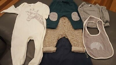 Baby boys clothes size 00 (Country Road/Seed/Gap/Bonds/Zara)