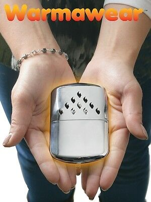 Flameless Hand Warmer Instant Heat Thermal Winter Cold Hands New Warmawear