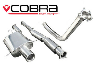 "Cobra Sport Impreza WRX/STI (06-07) 3"" Turbo Back Exhaust (De-Cat) - Track"