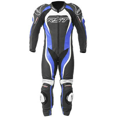 RST Motorcycle 1415 Tractech Evo II Mens Leather Suit Blue